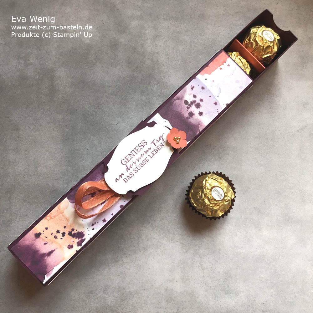 Extralange Pralinenbox für Ferrero Rocher - Stampin Up