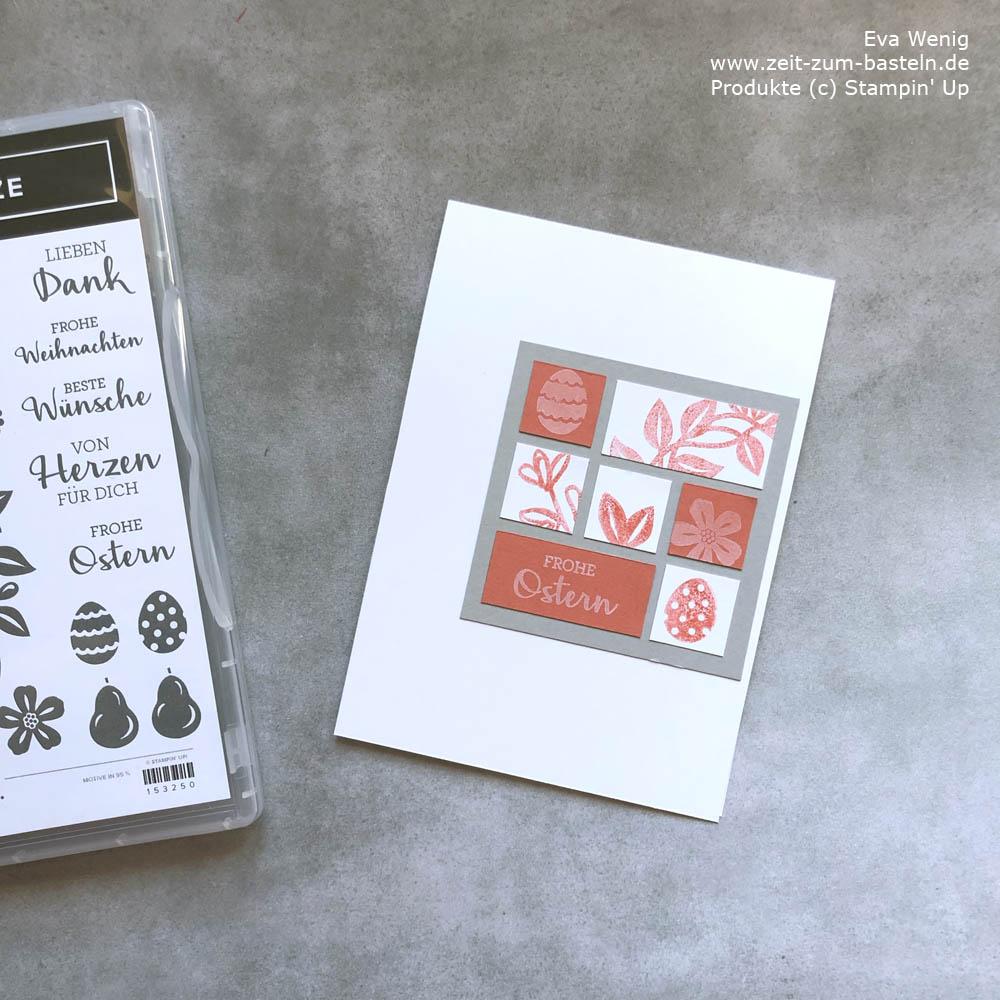 Inchie-Karte zu Ostern Stampin Up