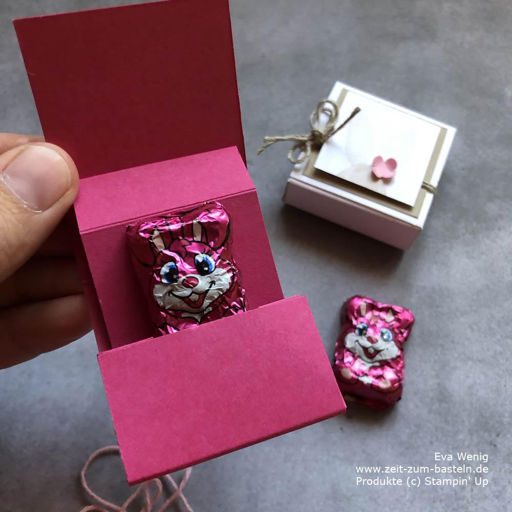 Mini Ziehverpackung für Ostern mit Stampin Up