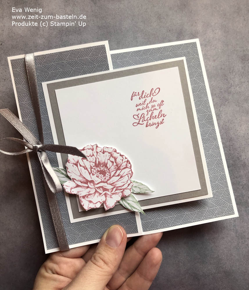 Online  Workshop 'Gut gefaltet' - Z-Fold card Stampin Up