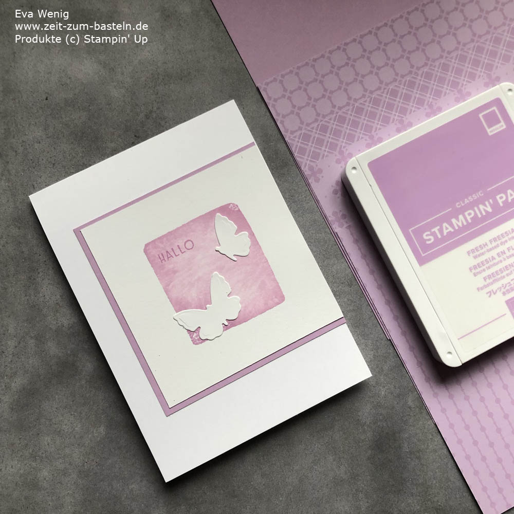 InColor 2021-2023 Stampin Up Freesienlila