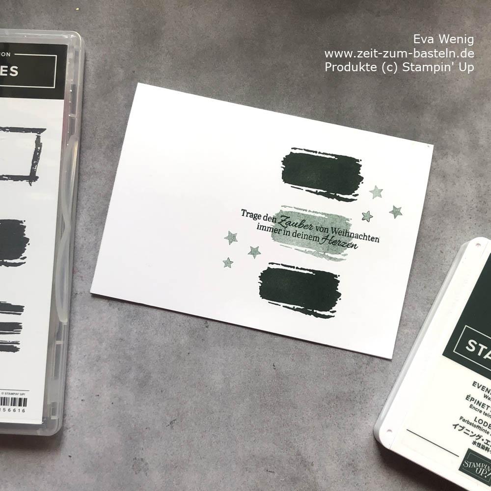 Quick Tip zwei Töne mit einem Stempelkissen & Fleckenentferneng zur Kartenrettung