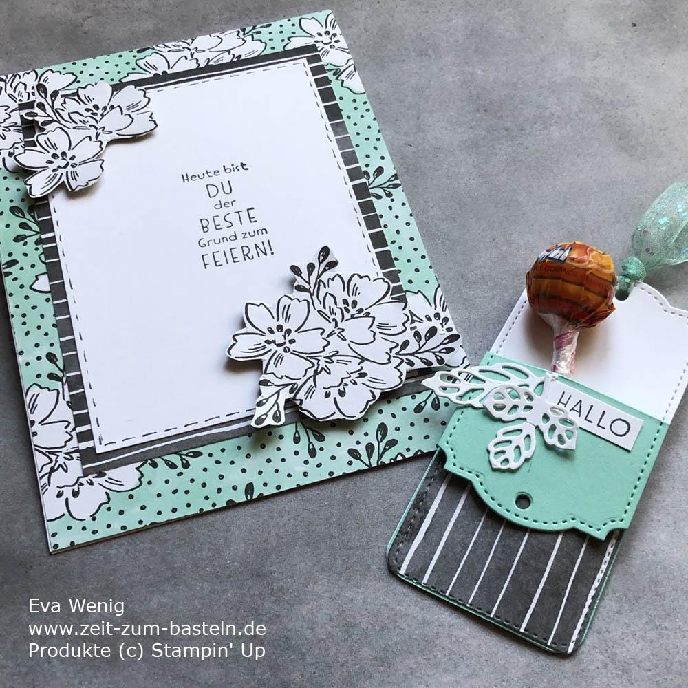 Karte & Lutscher Goodie Sale-a-Bration
