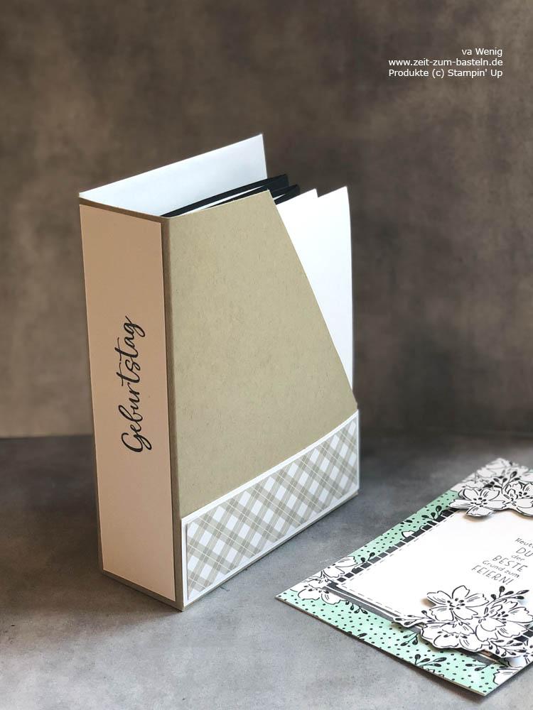 Kartensammler - ein DIY Organziser mit Stampin Up